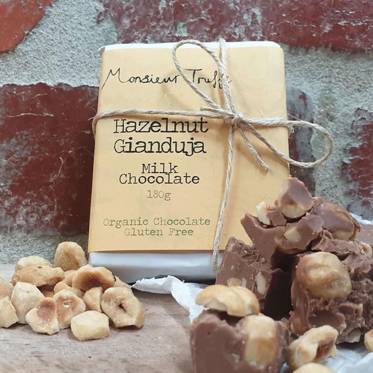 MONSIEUR TRUFFE HAZELNUT GIANDUJA (180g)