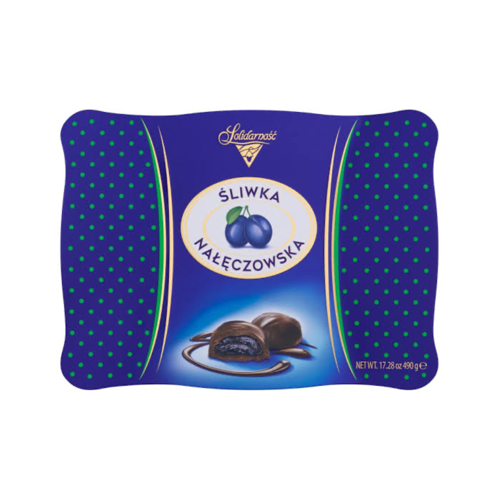 ŚLIWKA - CHOCOLATE-COVERED CANDIED PLUM