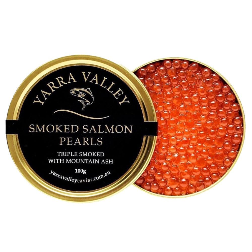 SMOKED SALMON PEARLS 100g