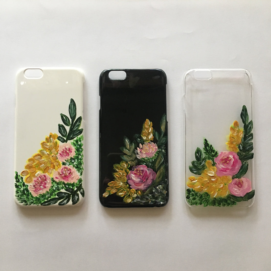 Hand-painted iPhone Case