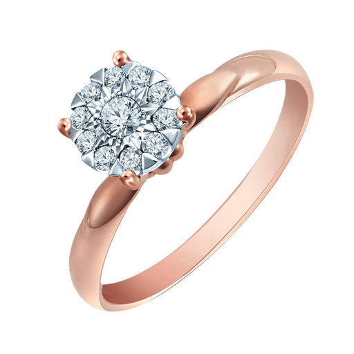 Latifah Diamond Ring (18K Gold)