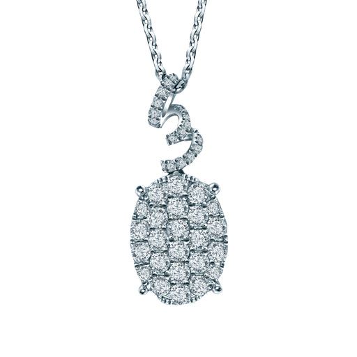 Rania Diamond Pendant (18K Gold)