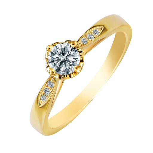 Jayna Diamond Ring (10K Gold)