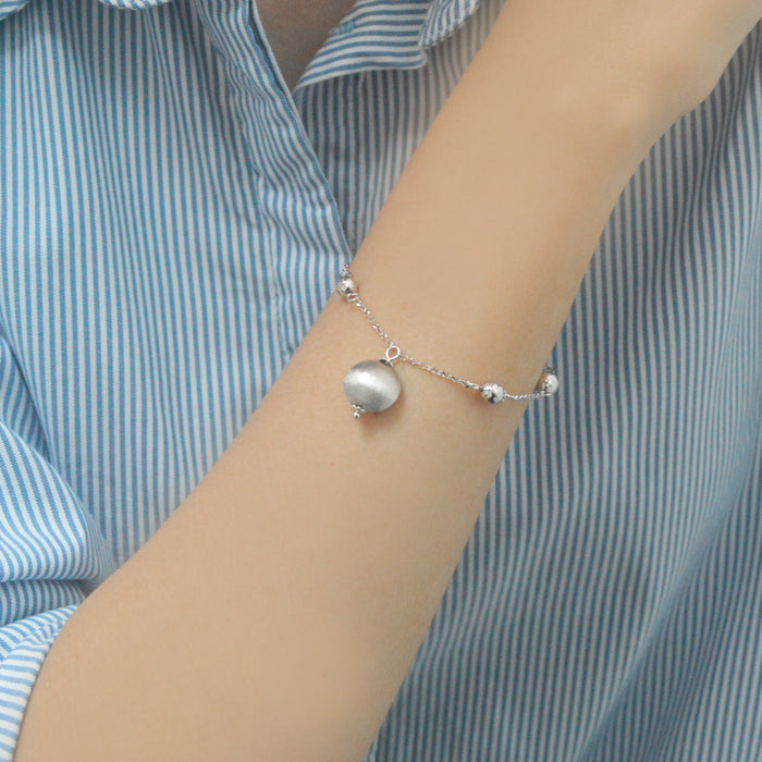 Luminous Orbs Bracelet (18K Gold)