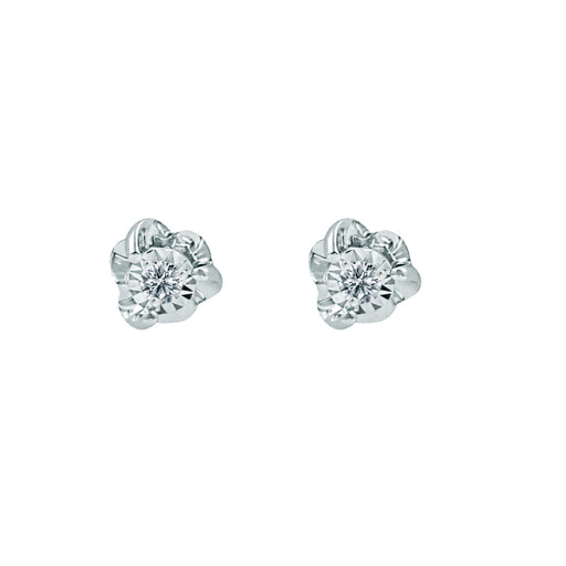 Audrey Diamond Stud Earrings (18K Gold)