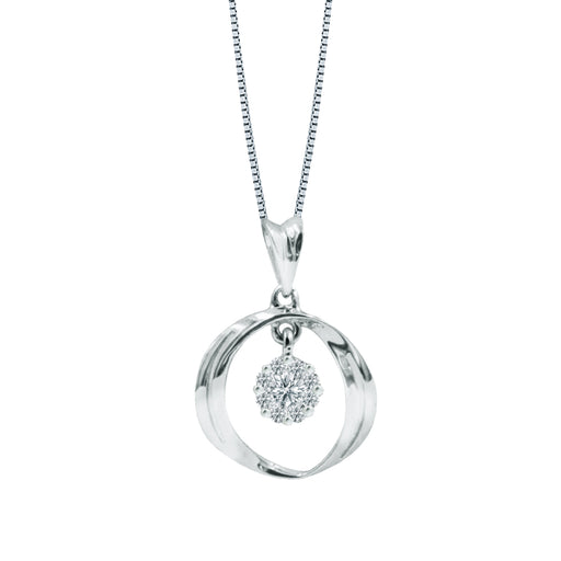 Vivian Diamond Pendant (18K Gold)