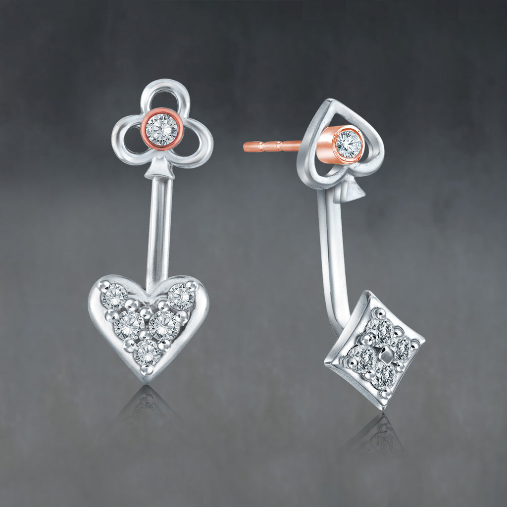 King & Queen Earrings