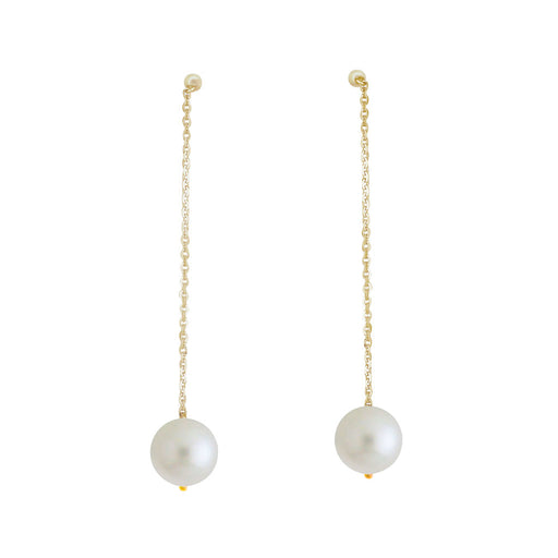 Elizabeth Dangling Pearl Earrings