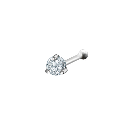 Disha Diamond Nose Stud (18K Gold)
