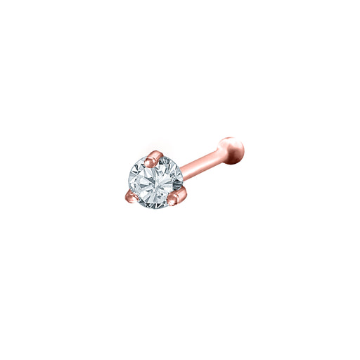Nisha Diamond Nose Stud (18K Gold)