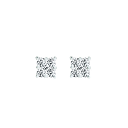 Charlie Diamond Stud Earrings (18k Gold)