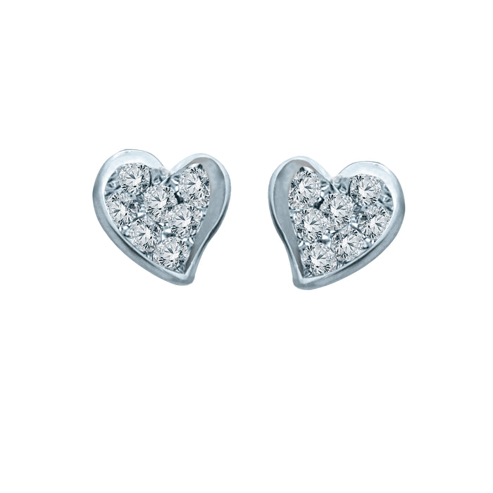 Luvva Diamond Earrings (18K Gold)