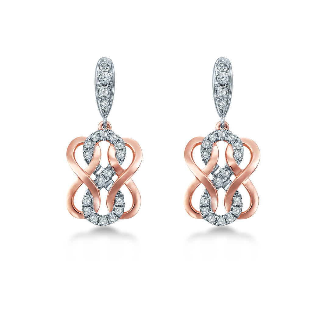 Double Knot Earrings
