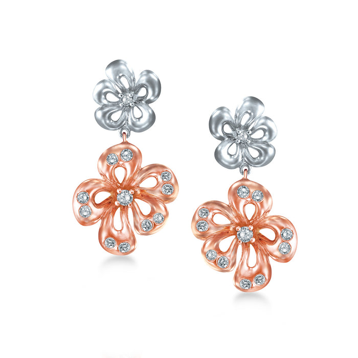 Daisy Duo Earrings
