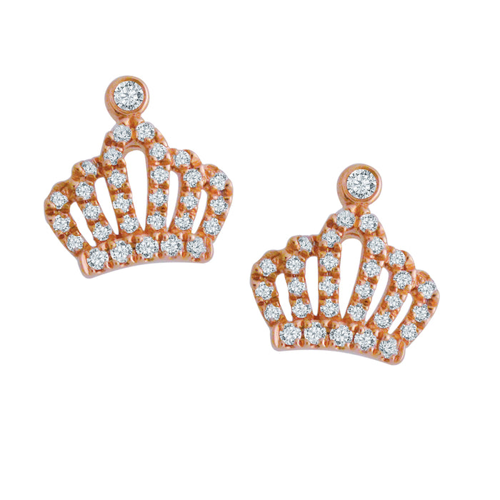 Royalty Diamond Earrings (18K Gold)