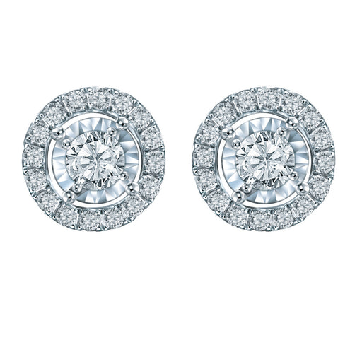 Rylee Diamond Earrings (18K Gold)