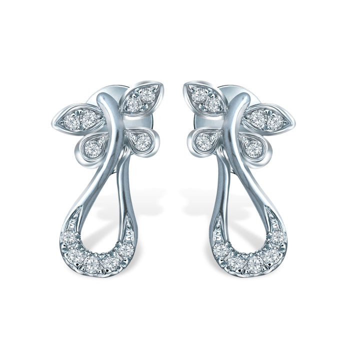 Sparkling Spirits Diamond Earrings (10K Gold)