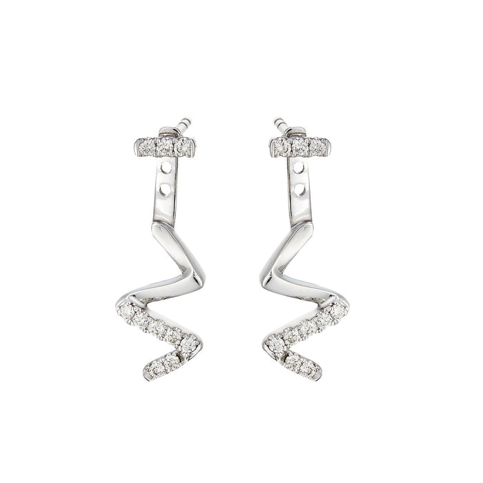 Nayla 2-Way Diamond Earrings (10K Gold)