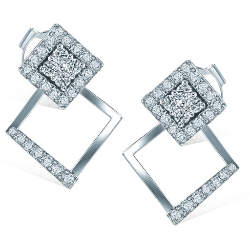Elektra Convertible Diamond Earrings