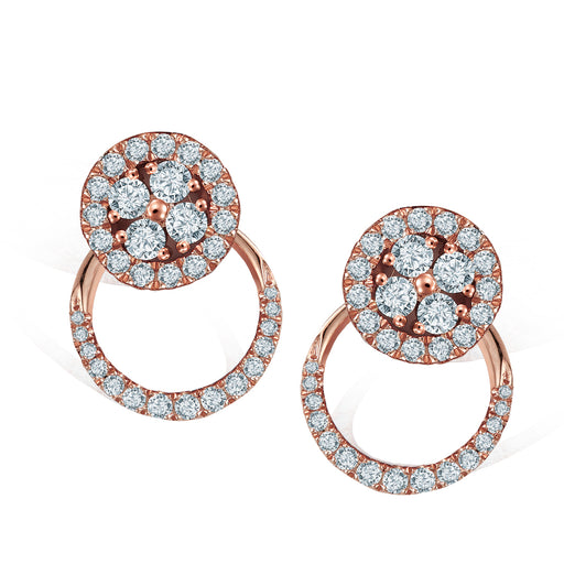 Laura Convertible Diamond Earrings