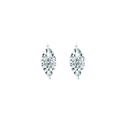 Cora Diamond Stud Earrings (18K Gold)