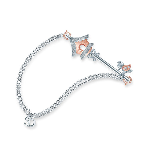 Jardin Key - Bird Cage Diamond Bracelet (10K Gold)