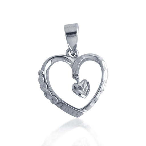 Dangling Hearts Pendant (18kK Gold)