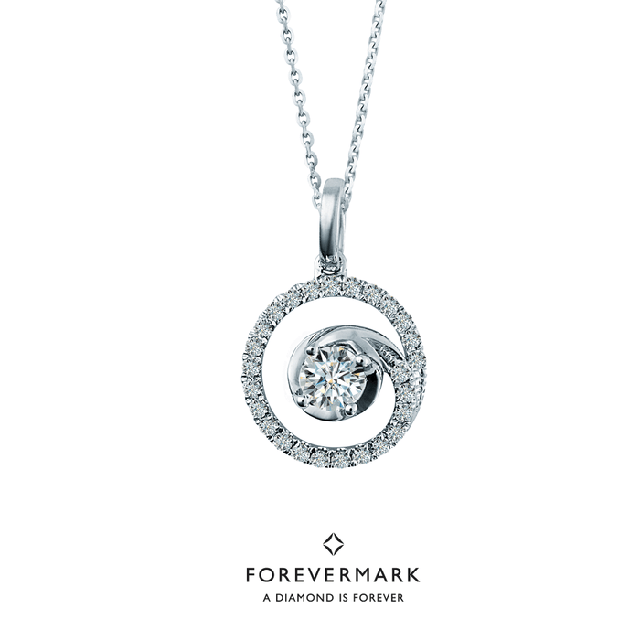 Forevermark Journey to the Heart Diamond Pendant (18K Gold)