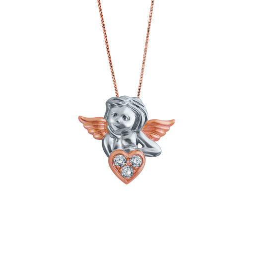 Christmas Bedazzled by Cupid 18K Gold Diamond Pendant