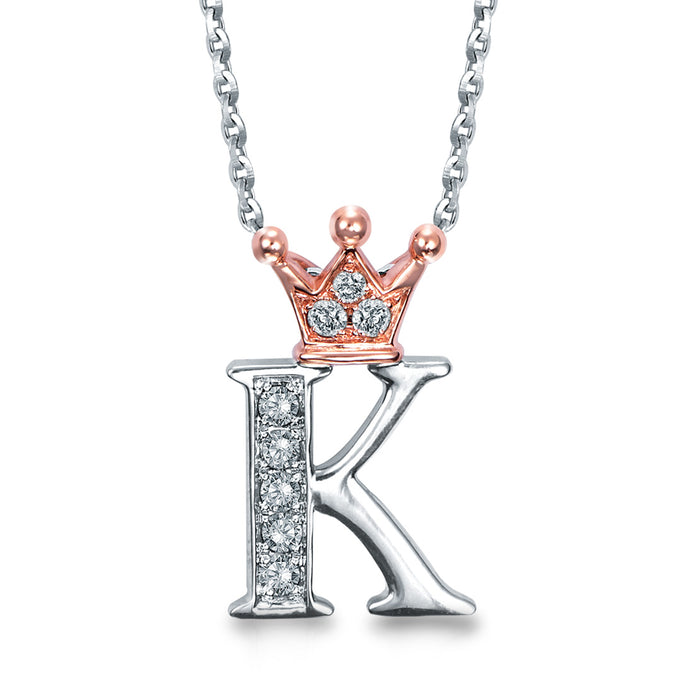 "Letter ""K"" Necklace"