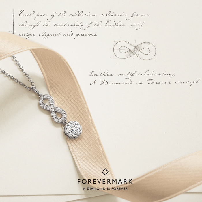 Forevermark Endlea Diamond Pendant (18K Gold)