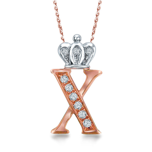 "Letter ""X"" Necklace"