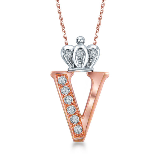 "Letter ""V"" Necklace"