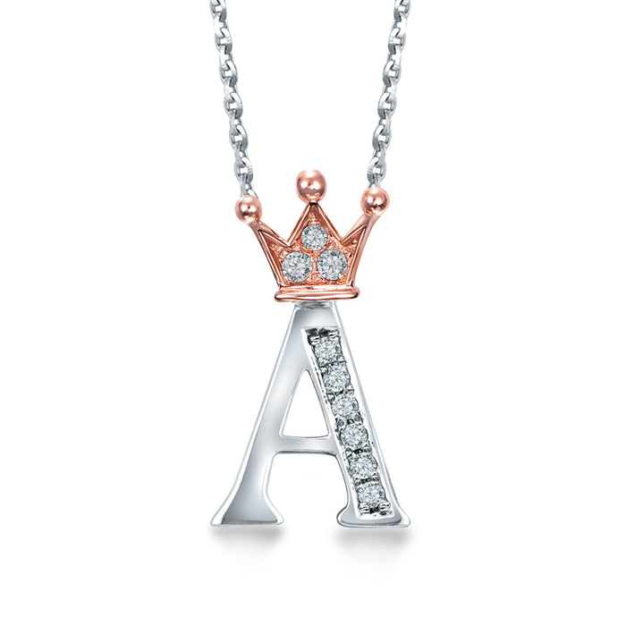 "Letter ""A"" Necklace"