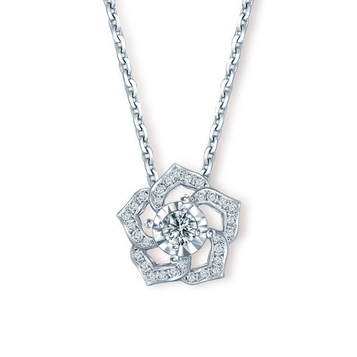 Athena Convertible Diamond Pendant