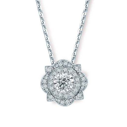 Cerise Convertible Diamond Pendant