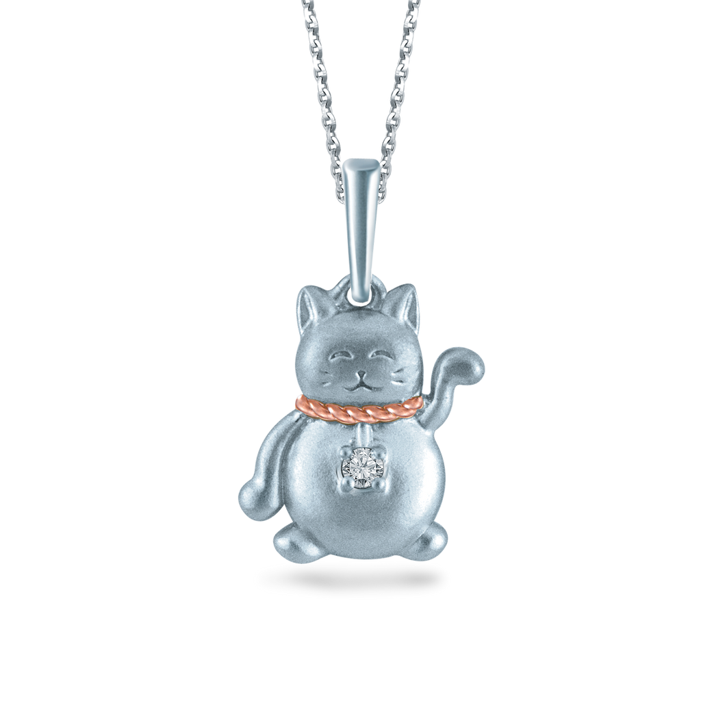 Fortune Cat Pendant