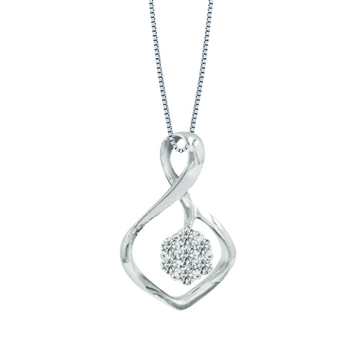 Leah Diamond Pendant (18K Gold)