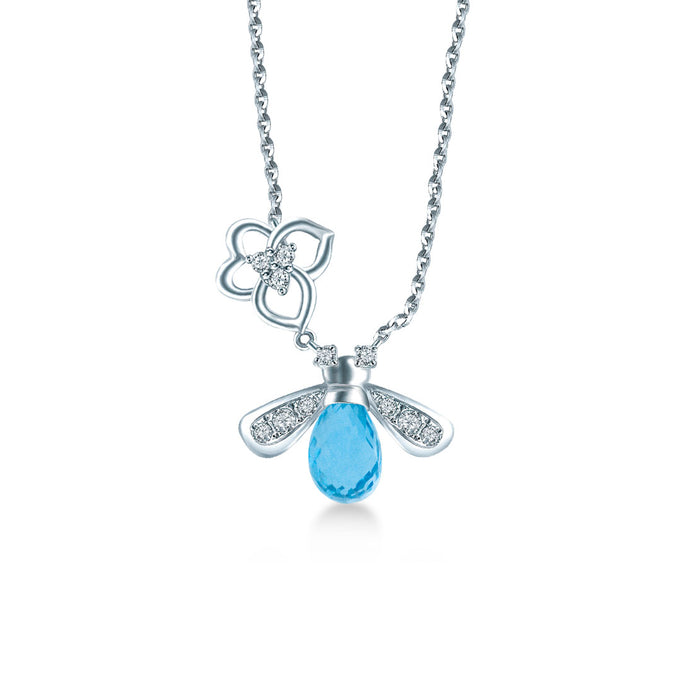 Aqua Gleam Necklace