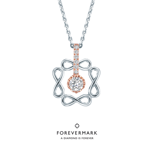 Forevermark Endlea 2-Way Wearable Diamond Pendant (18K Gold)