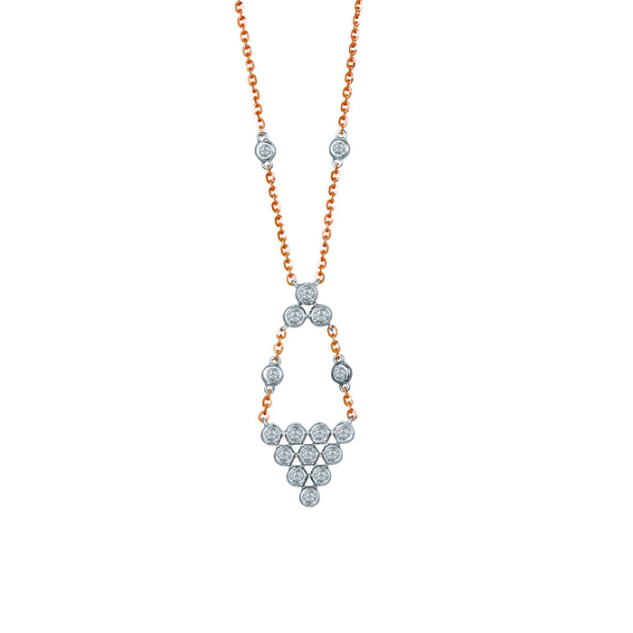Emyrn Diamond Necklace (10K Gold)