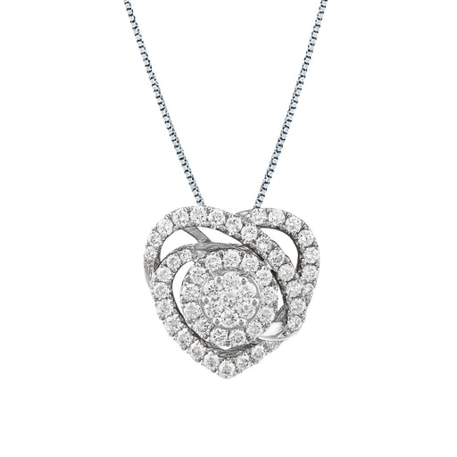 Heather Convertible Diamond Pendant