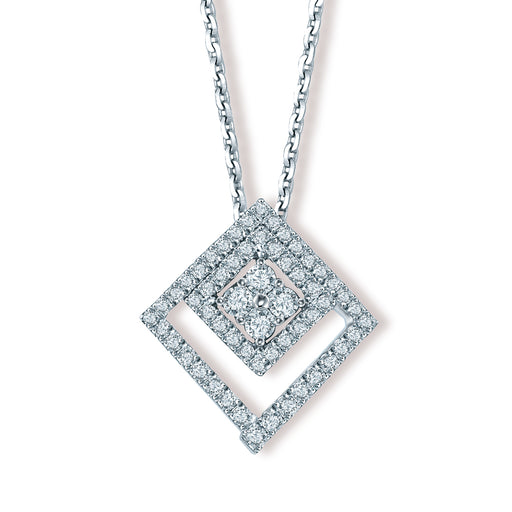 Elektra Convertible Diamond Pendant