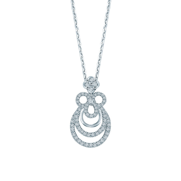 Kaia Diamond Pendant (18K Gold)