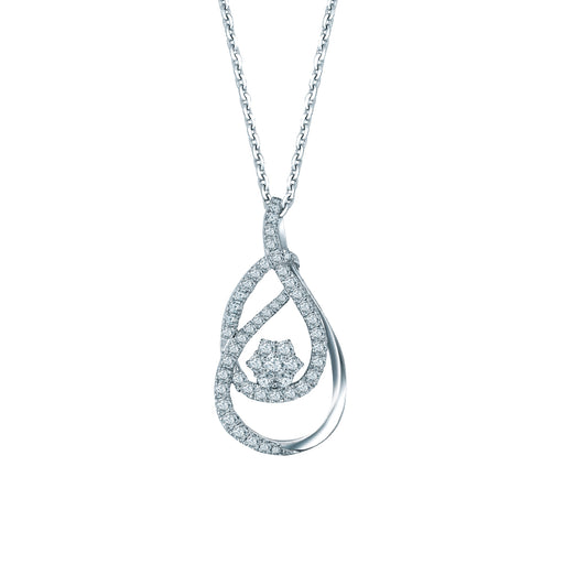 Winfrey Diamond Pendant (18K Gold)