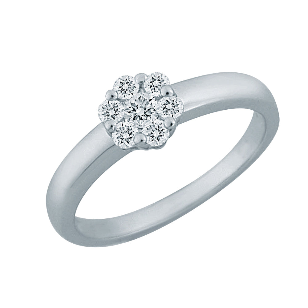 Tessa Diamond Ring (18K Gold)