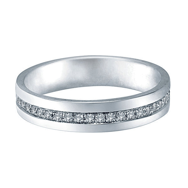 Dear Promise Female Diamond Wedding Ring (18K Gold)