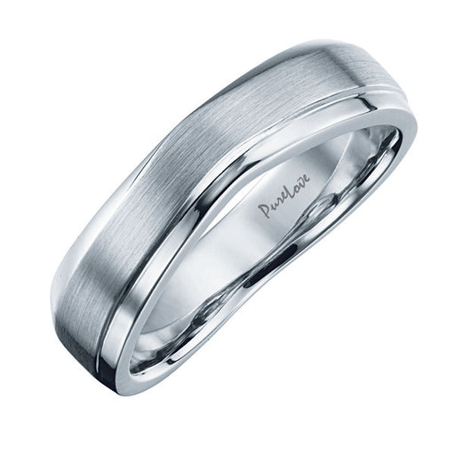 Eternal Pure Love Male Wedding Ring (Platinum)
