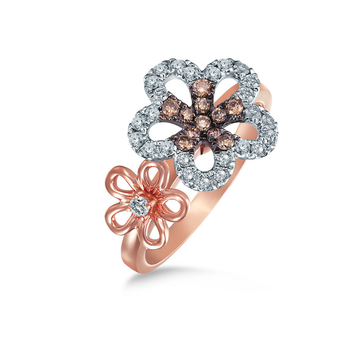 Duo Blossom Ring