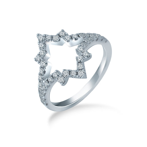 Sparkling Star Ring